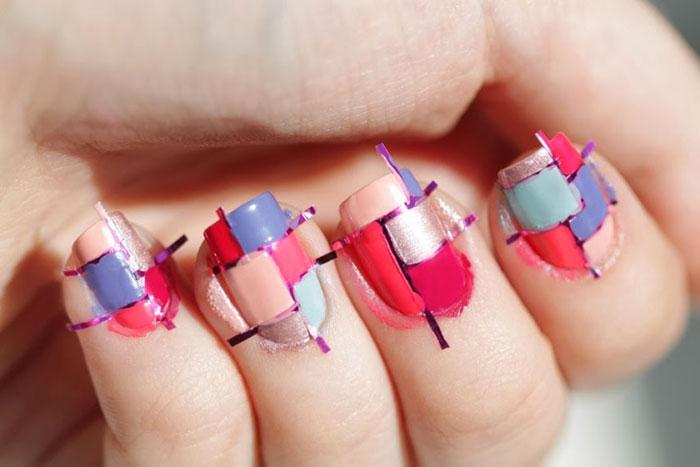 Ленточки для ногтей