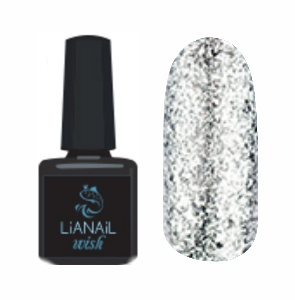 Гель-лак Wish Silver shine LiaNail