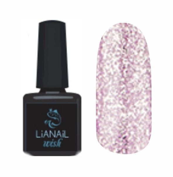 Гель-лак Wish Lilac shine LiaNail