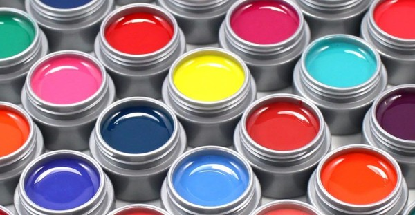 Гель-краски для дизайна ногтей