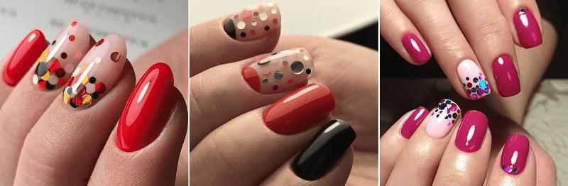 Камифубуки, фото дизайна ногтей