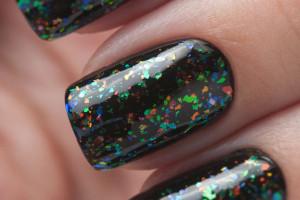 Слюда на ногтях