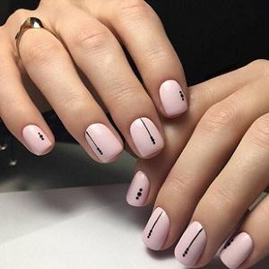 Минималистичный дизайн ногтей 2018 фото