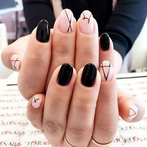 Минималистичный дизайн ногтей фото