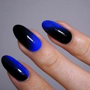 Эффект омбре на ногтях фото