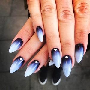 Дизайн ногтей омбре 2018